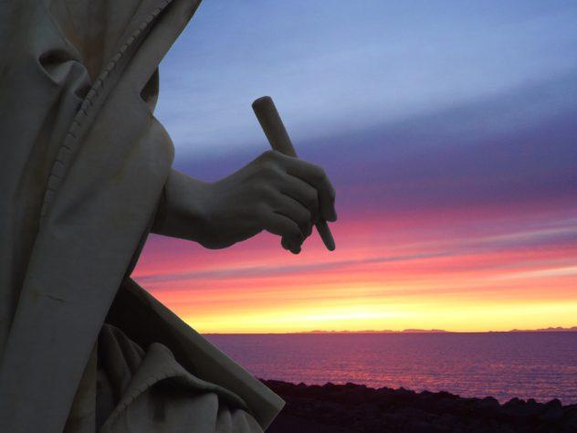 italia statue